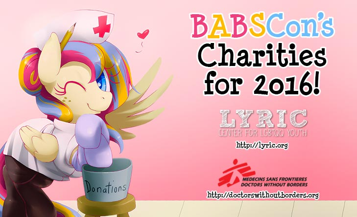 Our Charities! LYRIC & Doctors Without Borders