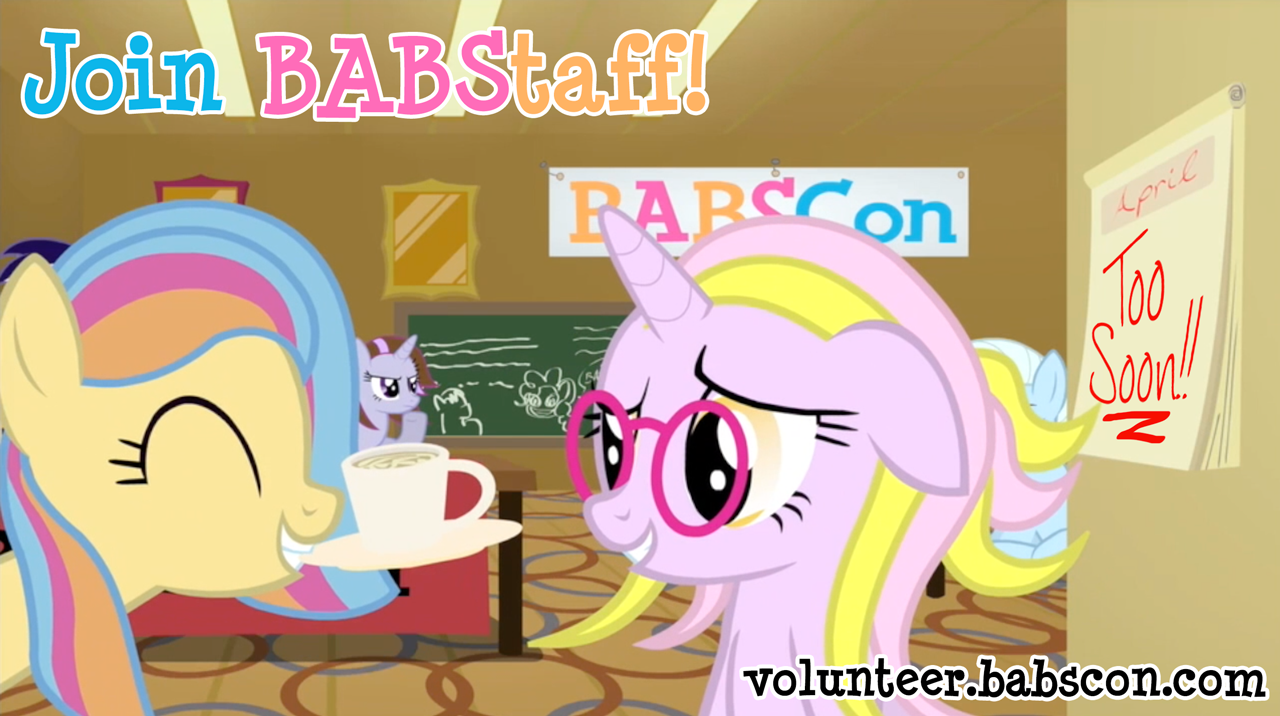 Join BABSCon Staff!