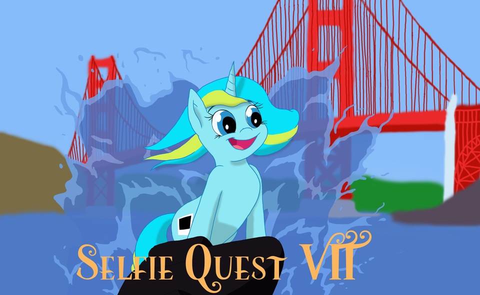 SELFIE SNAPSHOTS TO BE TAKEN OF THE CONVENTION BUILT ON LITTLE PONIES!