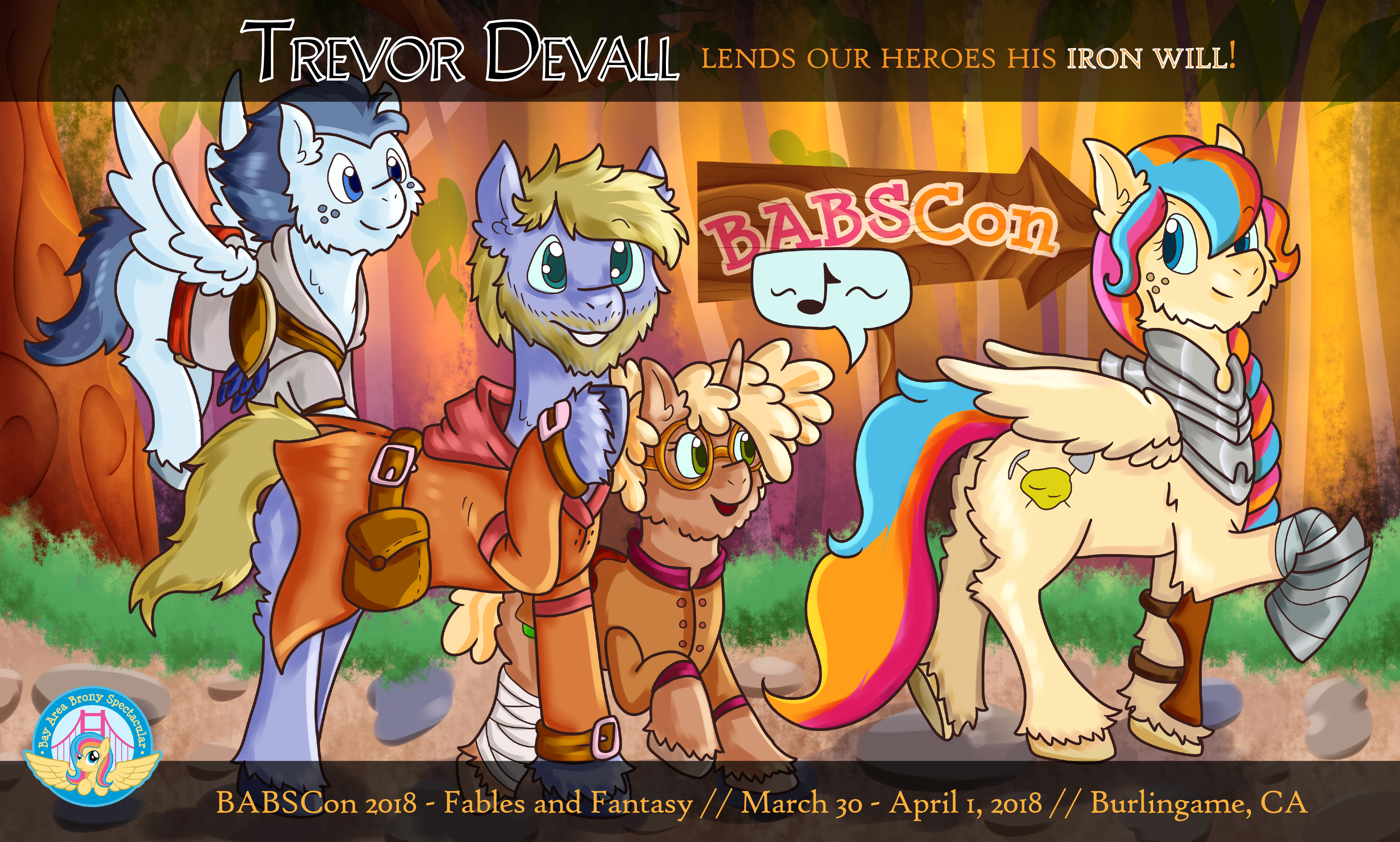 Trevor Devall Brings his Iron Will to BABSCon!