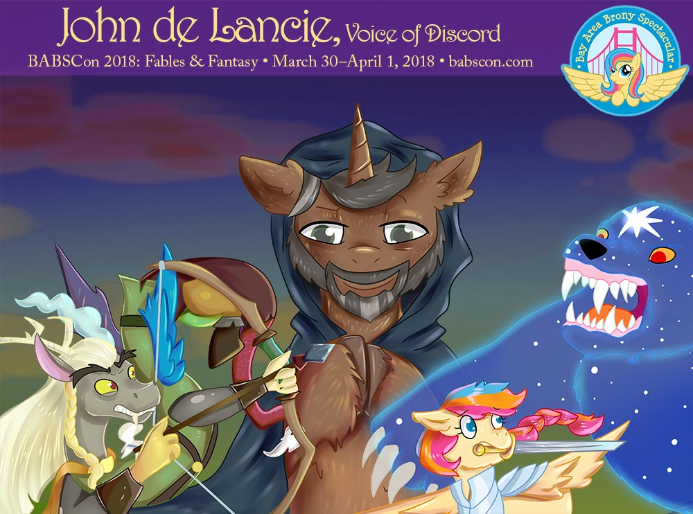 John de Lancie Has Joined Your Party for BABSCon's BLACK FRIDAY SALE!