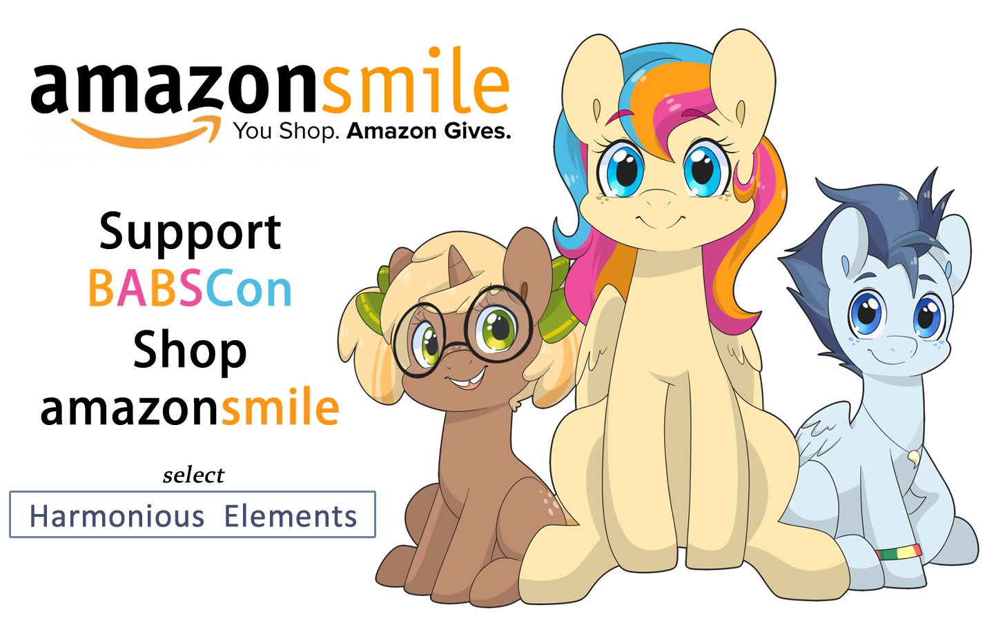 Support BABSCon with AmazonSmile