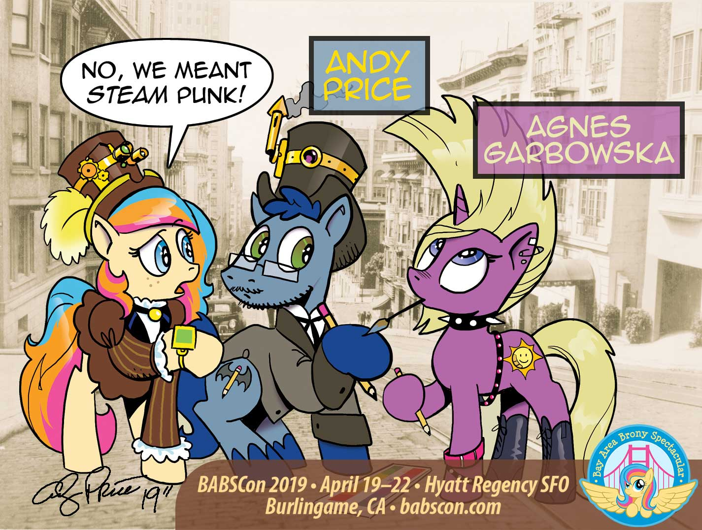 BABSCon Draws a Royal Pair: Andy Price & Agnes Garbowska