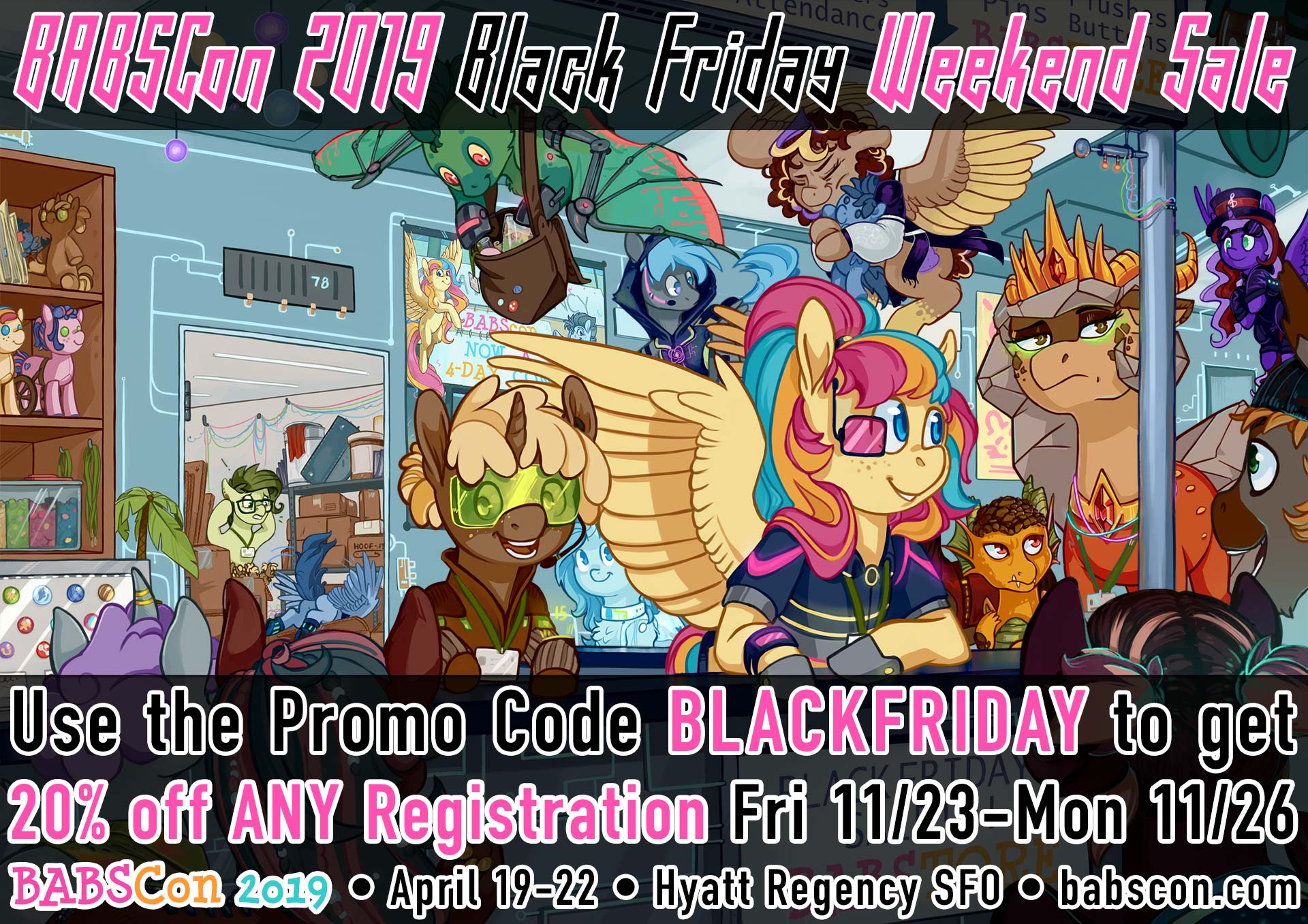 BABSCon 2019 is Carving Up Prices for Black Friday Weekend