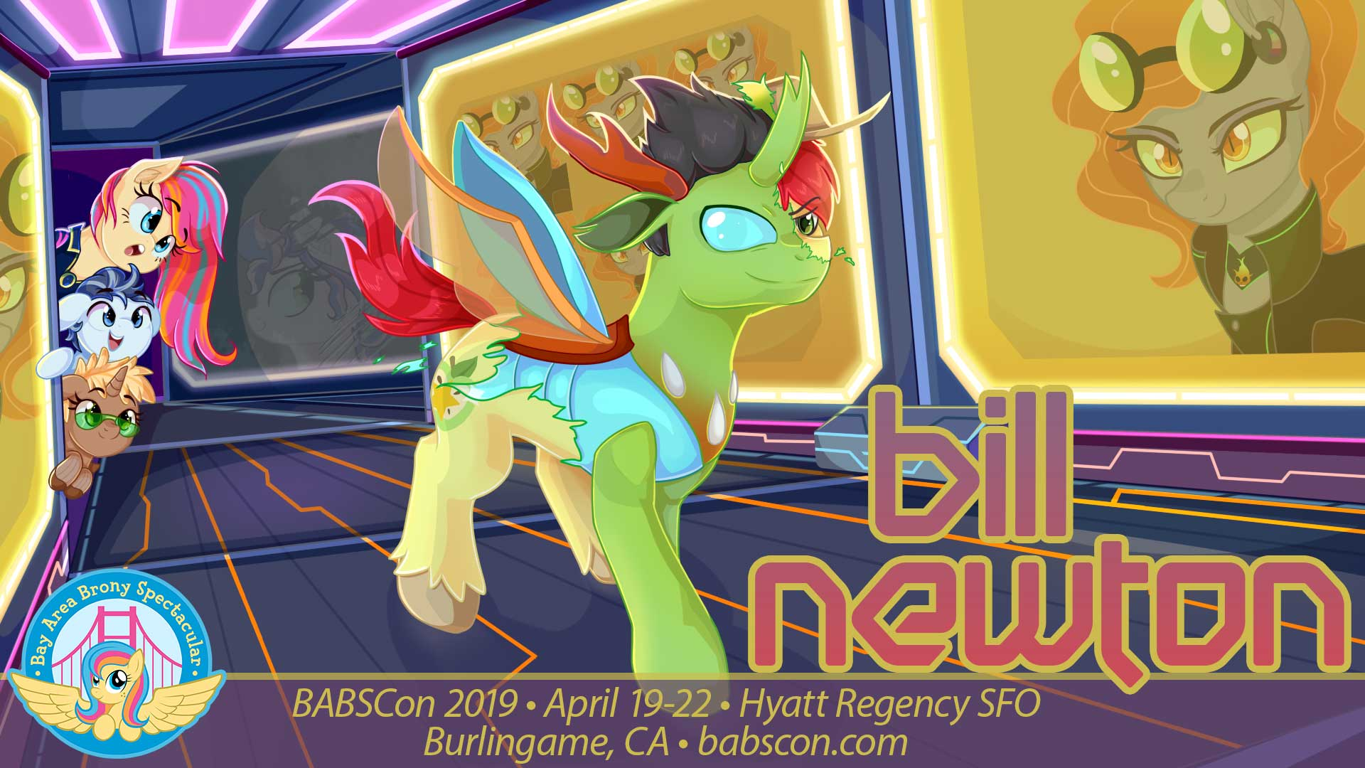 BABSCon 2019 Makes a Bright Move with Bill Newton