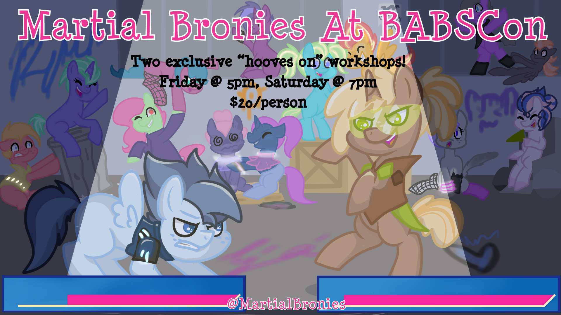 Martial Bronies at BABSCon!