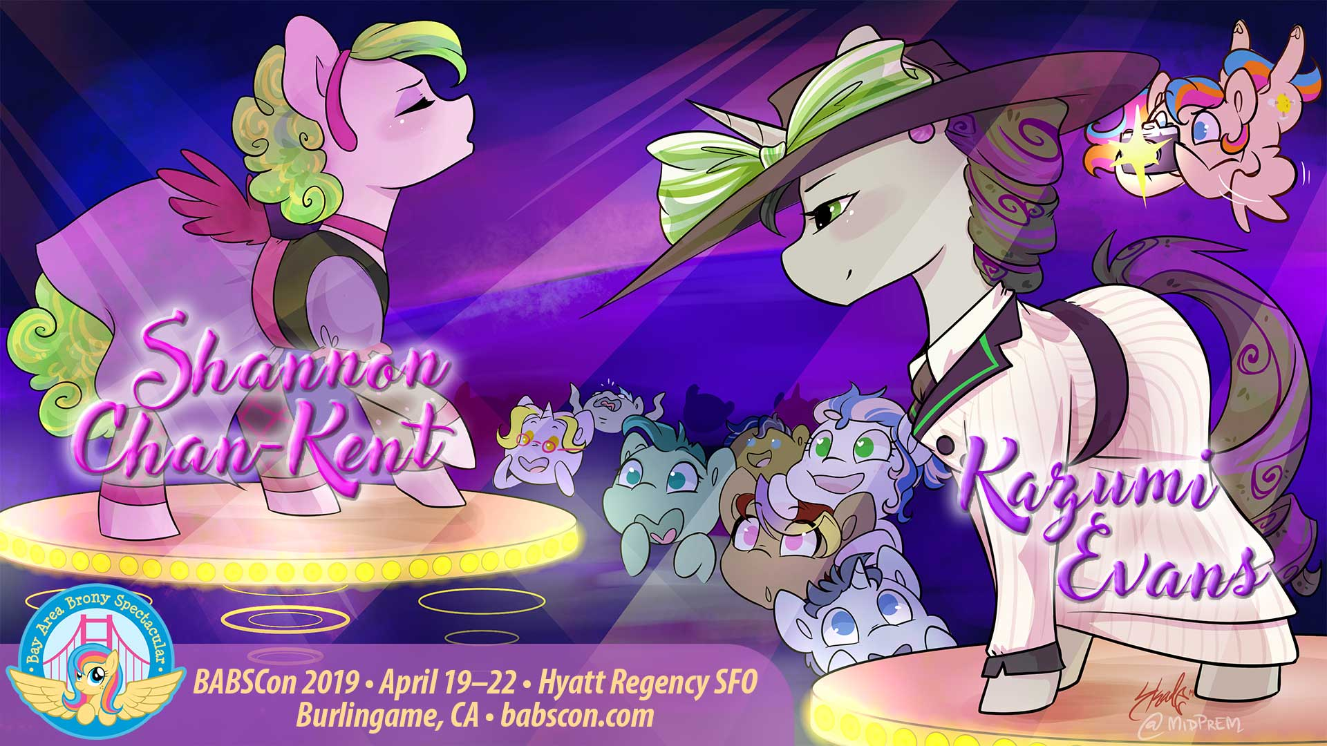 BABSCon Sings Sweet Harmony With Kazumi Evans and Shannon Chan-Kent