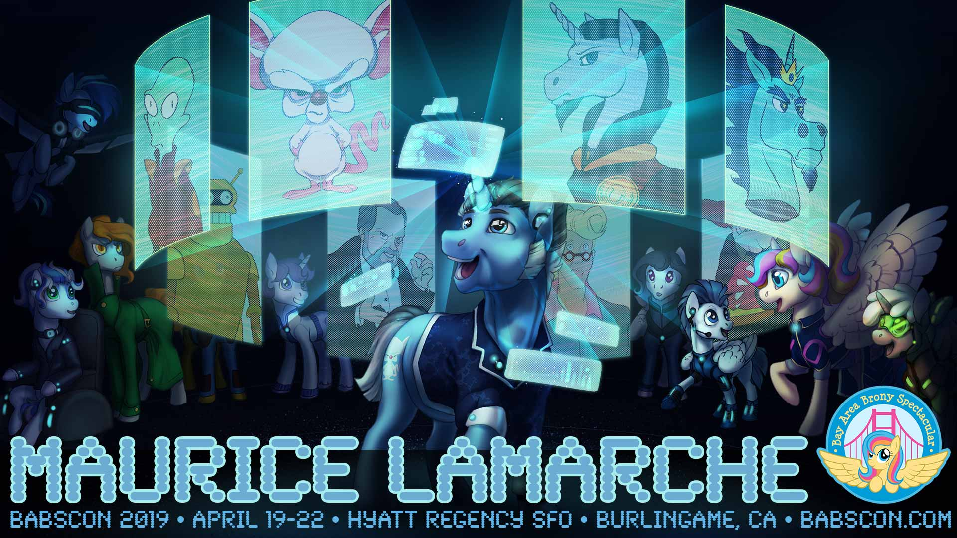 BABSCon Gives the Best Gift Ever: Guest of Honor Maurice LaMarche