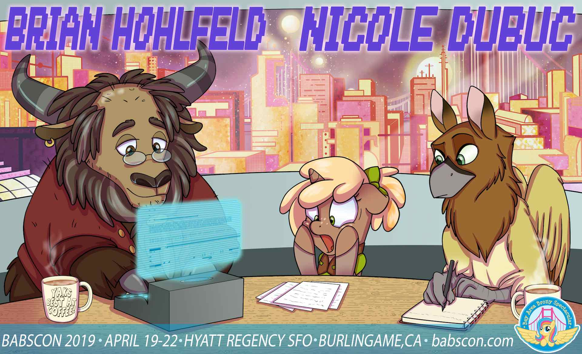 BABSCon Writes Its Own Ticket With Nicole Dubuc & Brian Hohlfeld