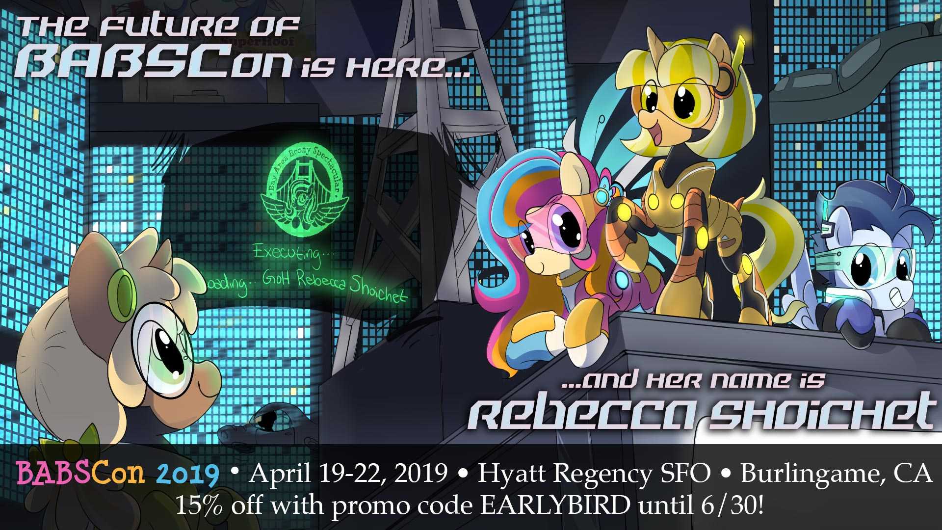 The Future of BABSCon is Here April 19-22, 2019, and Rebecca Shoichet Will Be There…but Get Your Early Bird Discounts NOW!