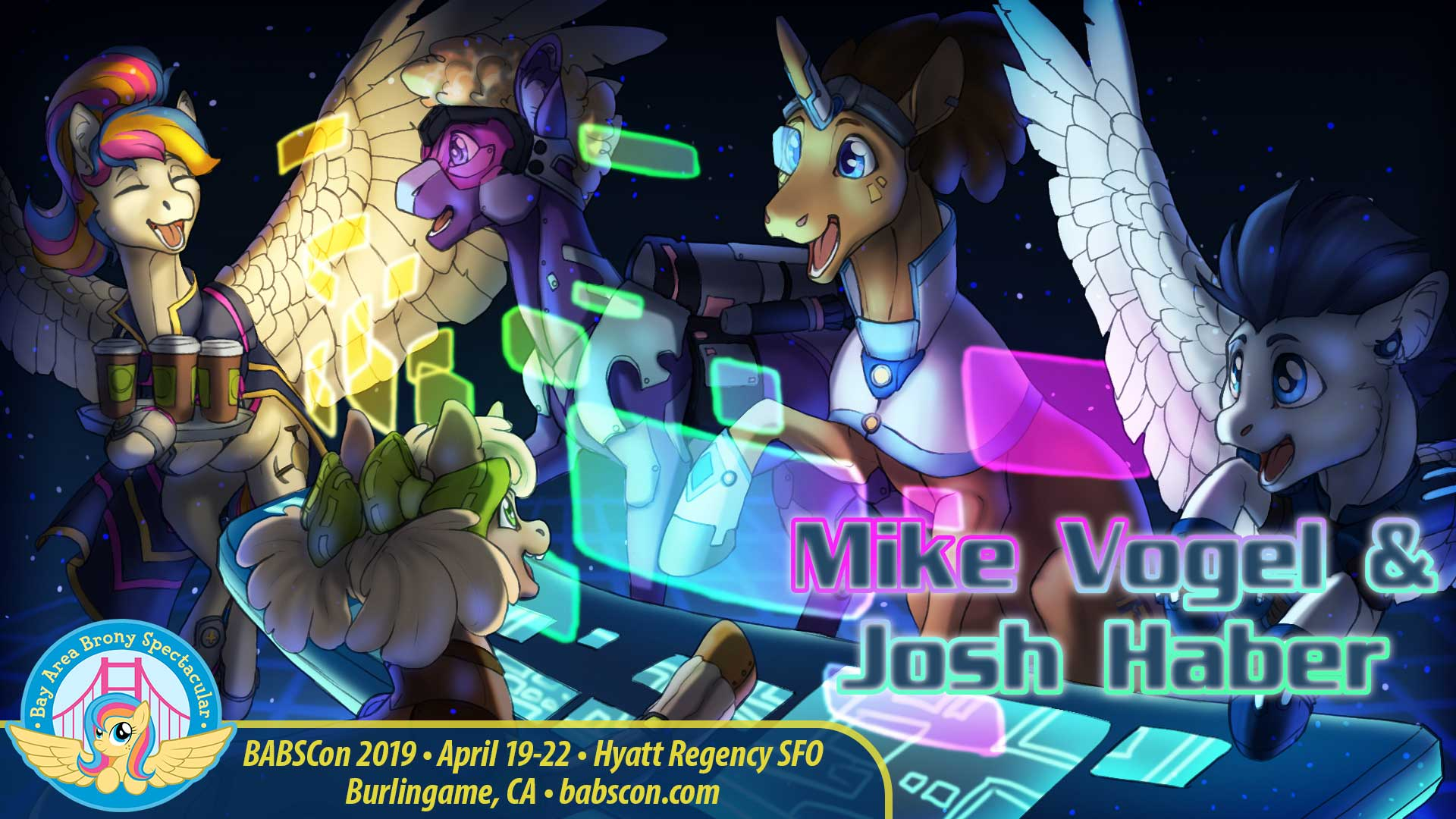 Last-Minute Plot Twist: BABSCon Books Mike Vogel and Josh Haber!