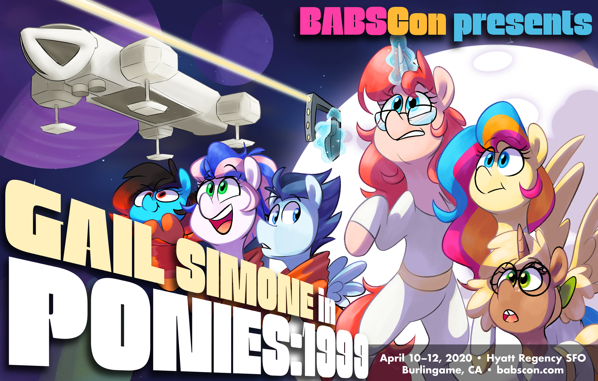 BABSCon 2020 Blasts Off With Stellar Writer Gail Simone