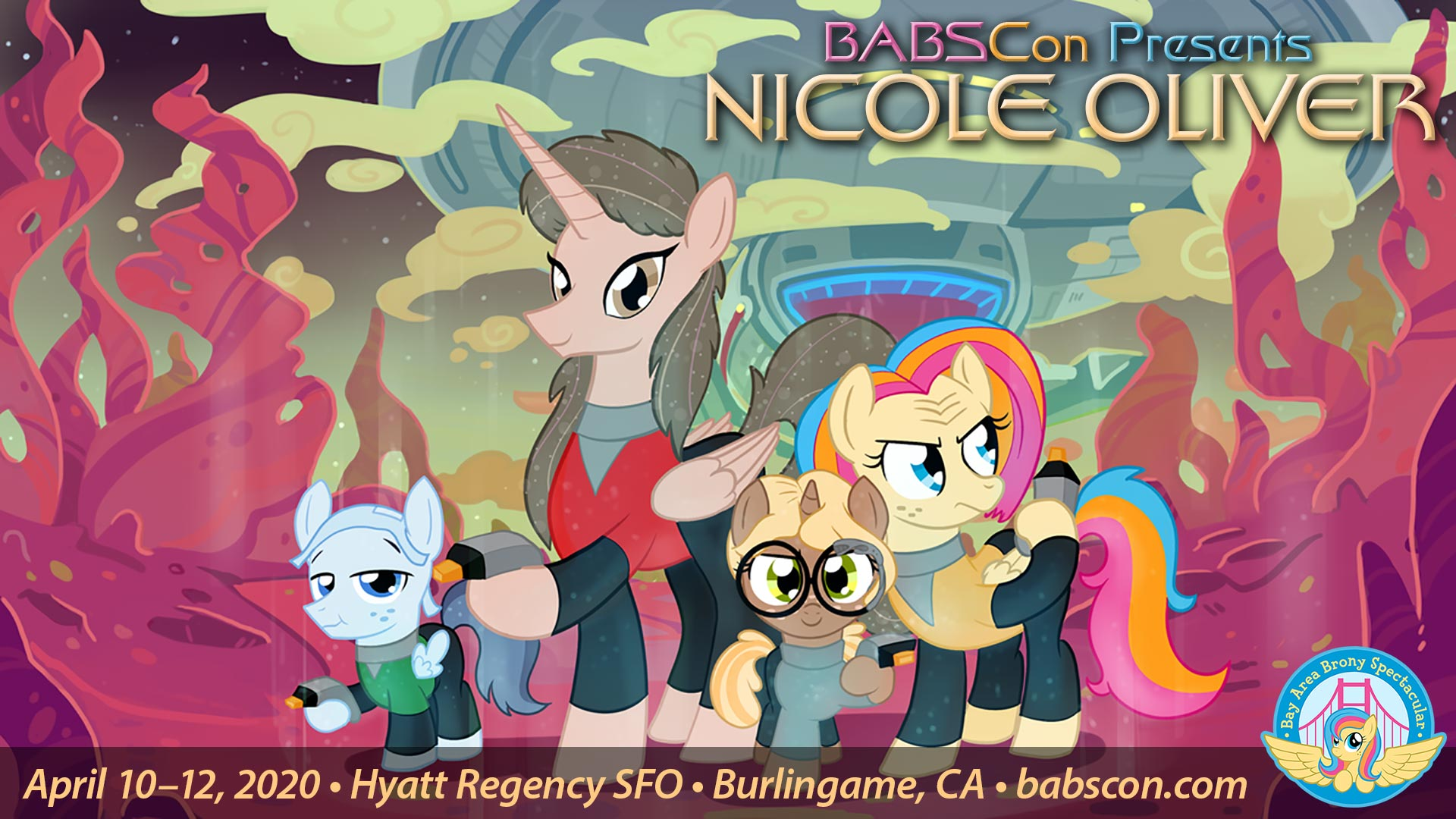 BABSCon 2020 Gets Celestial with Nicole Oliver!