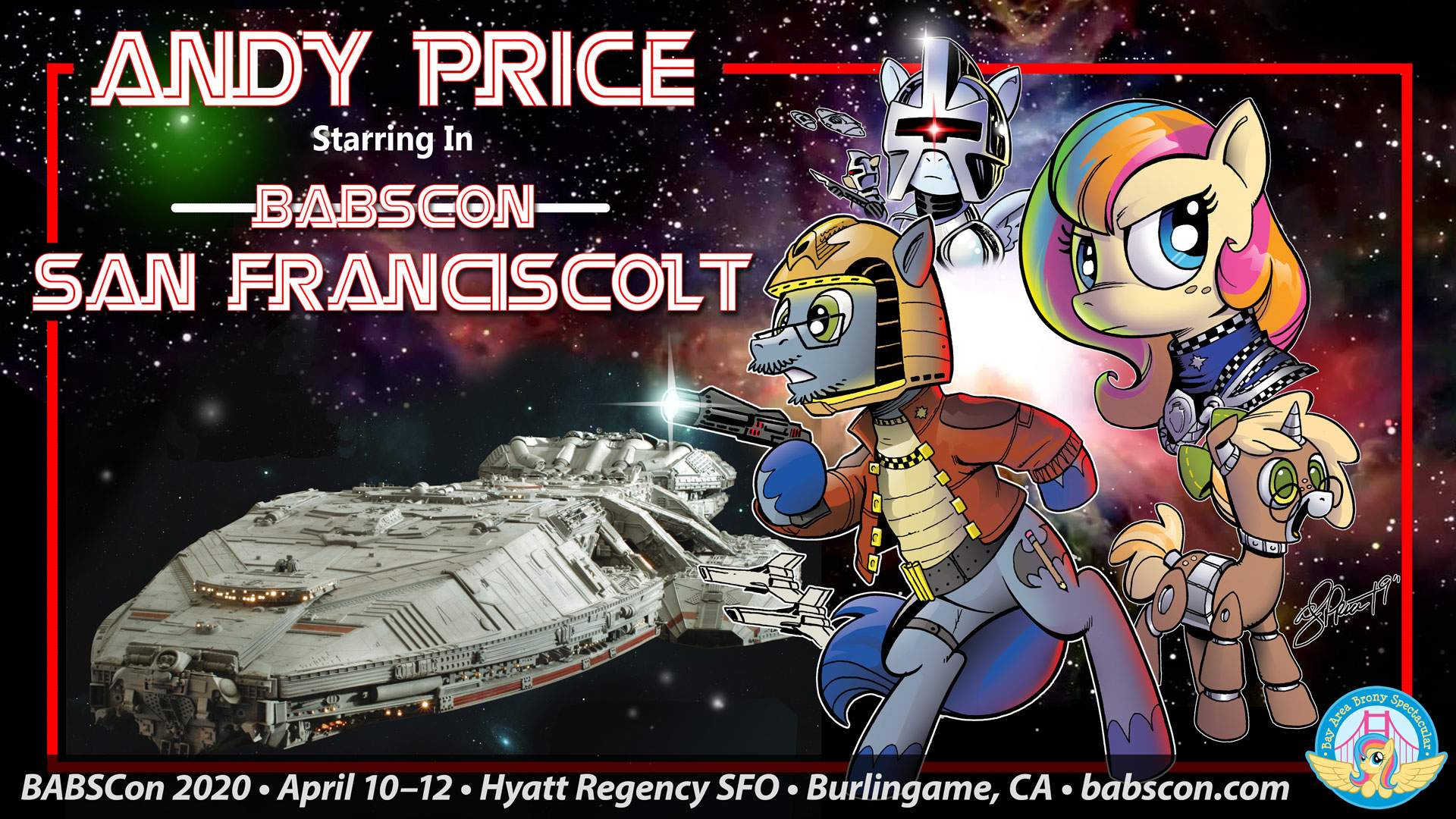 BABSCon Gets Galactic with Andy Price