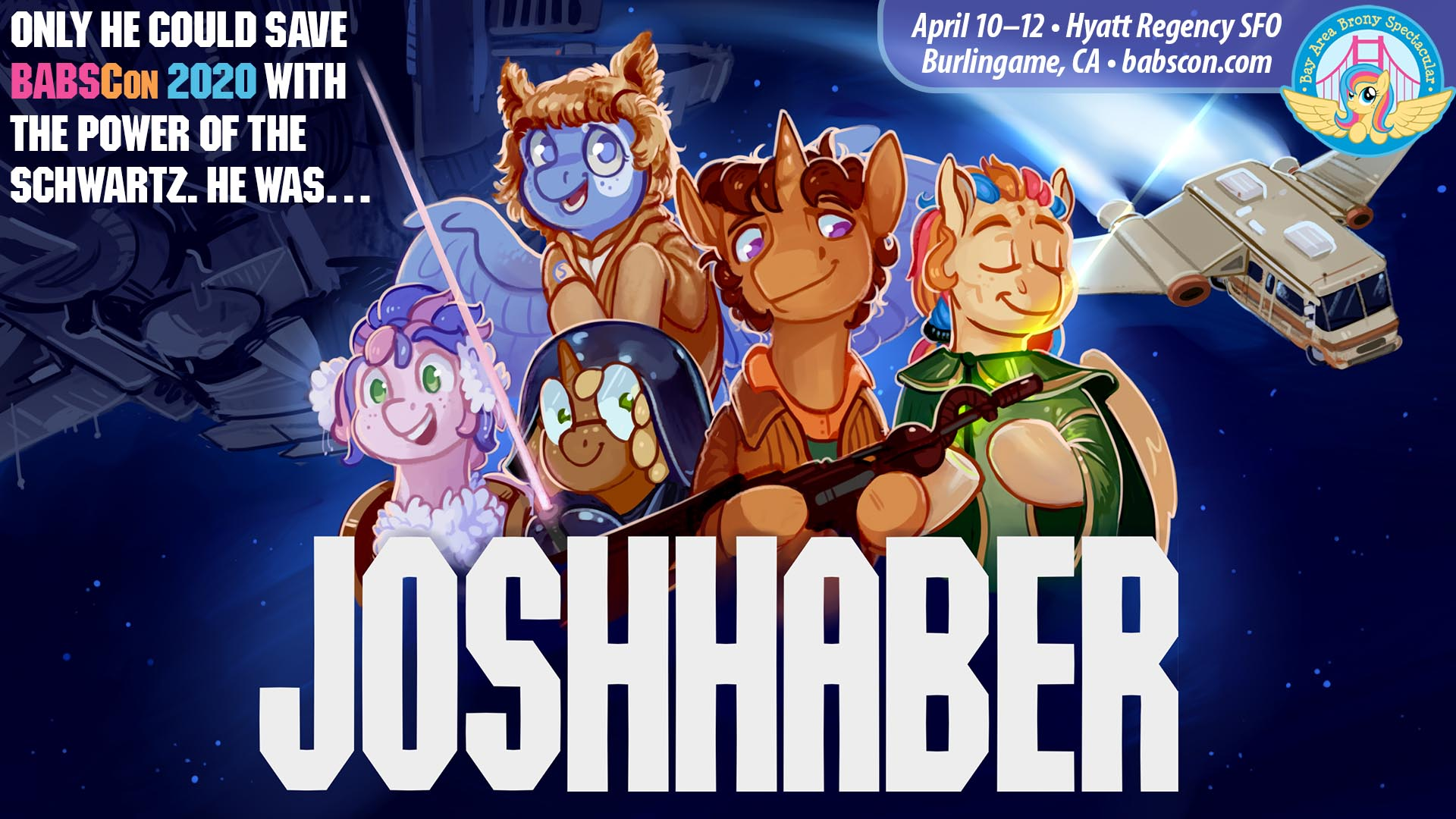 BABSCon Gets On the (Space)Ball with Josh Haber!