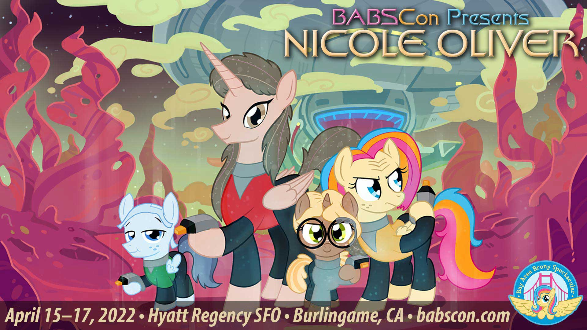 BABSCon 2022 Voyages with Nicole Oliver