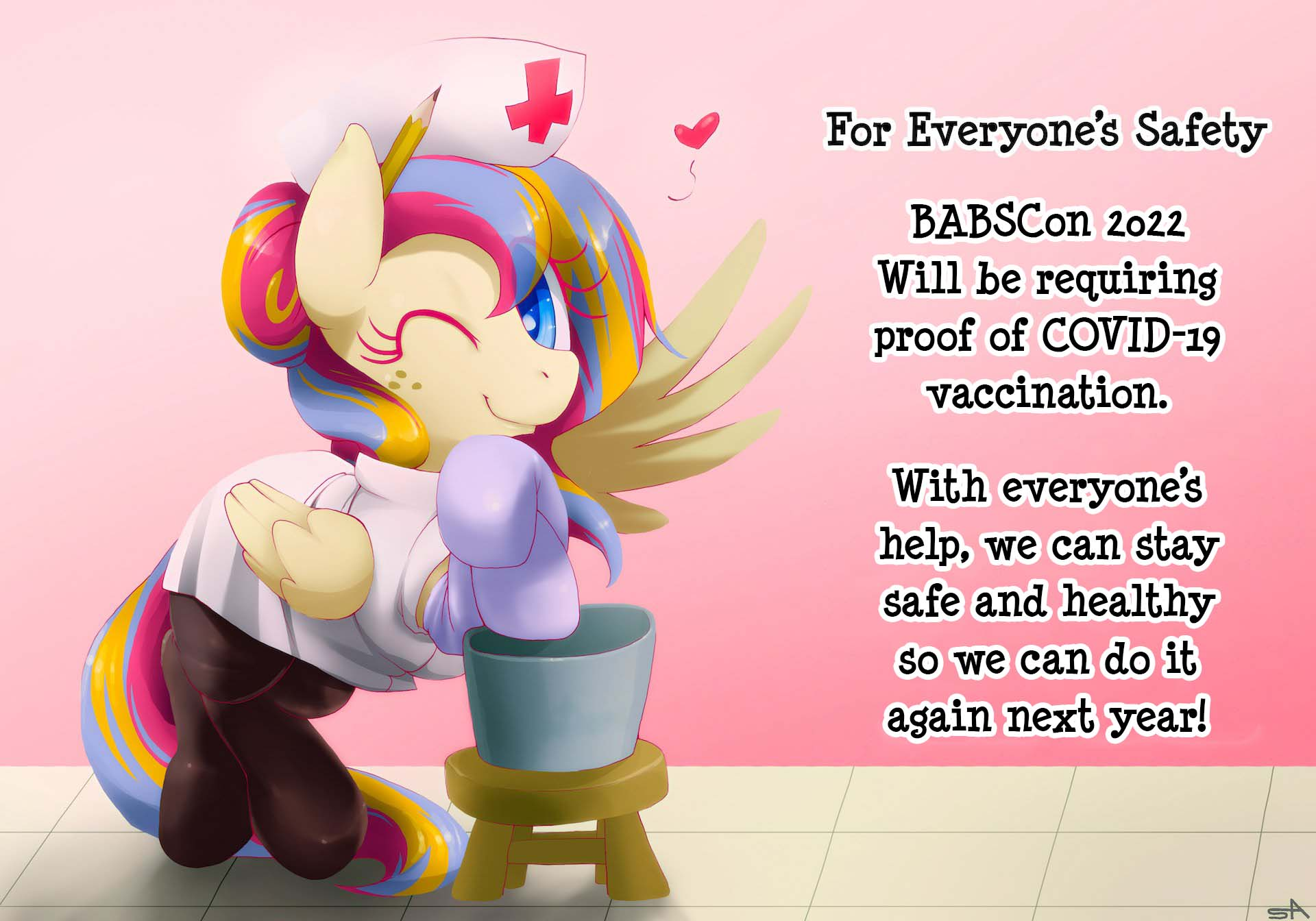 BABSCon 2022: Proof of Vaccination Required to Keep Everyone Safe!